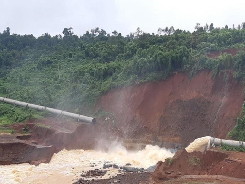 Sau Đắk Kar, Thủy điện Đắk Sin 1 gặp sự cố, đang bị cô lập - ảnh 4
