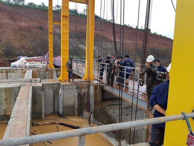 Sau Đắk Kar, Thủy điện Đắk Sin 1 gặp sự cố, đang bị cô lập - ảnh 3