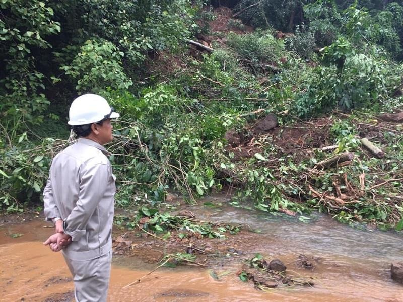 Sau Đắk Kar, Thủy điện Đắk Sin 1 gặp sự cố, đang bị cô lập - ảnh 1