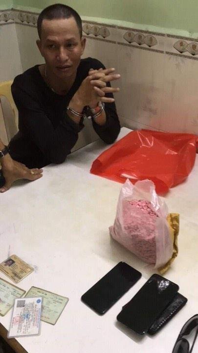 Thanh niên chở thuê 1,1 kg ma túy gặp CSGT Chợ Lớn - ảnh 2