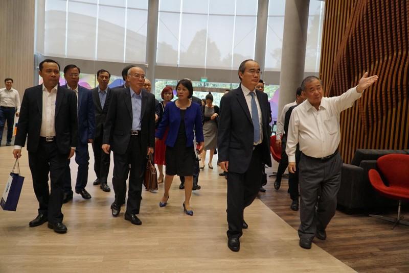 Singapore sẽ giúp TP.HCM đào tạo các công ty khởi nghiệp - ảnh 1