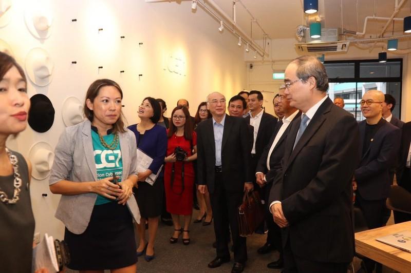 Singapore sẽ giúp TP.HCM đào tạo các công ty khởi nghiệp - ảnh 4