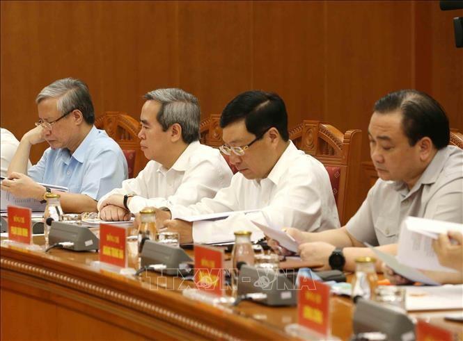 Tổng Bí thư, Chủ tịch nước họp Tiểu ban Văn kiện Đại hội XIII  - ảnh 4