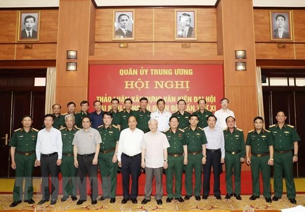Tổng bí thư, Chủ tịch nước chỉ đạo tại HN Quân ủy Trung ương - ảnh 2