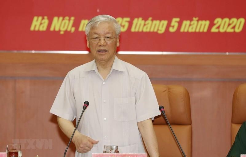 Tổng bí thư, Chủ tịch nước chỉ đạo tại HN Quân ủy Trung ương - ảnh 1