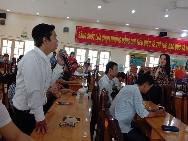 Hàng trăm người dân được tư vấn trong ngày hội pháp luật - ảnh 3
