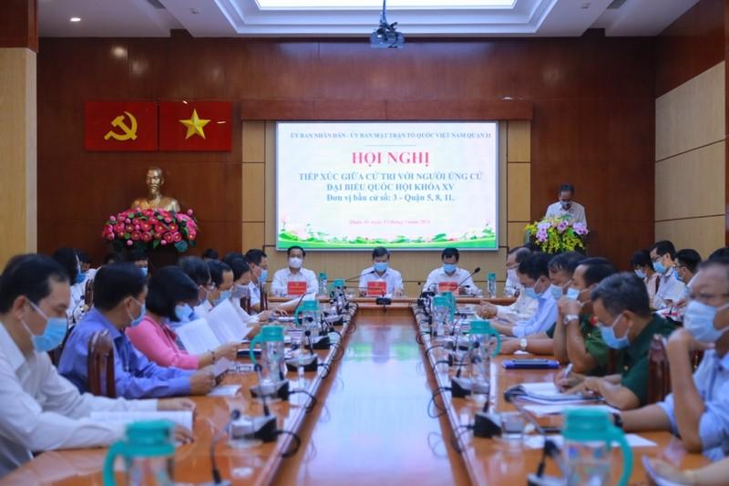 Ứng cử viên Lê Minh Trí chú trọng đến tội phạm tham nhũng - ảnh 1