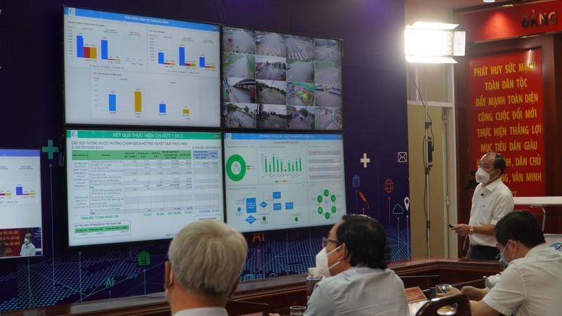 Khánh thành Trung tâm chỉ huy phòng chống dịch COVID-19 - ảnh 1