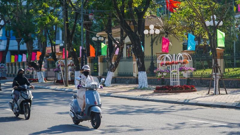Phố phường Đà Nẵng rực rỡ trước Tết Tân Sửu - ảnh 1