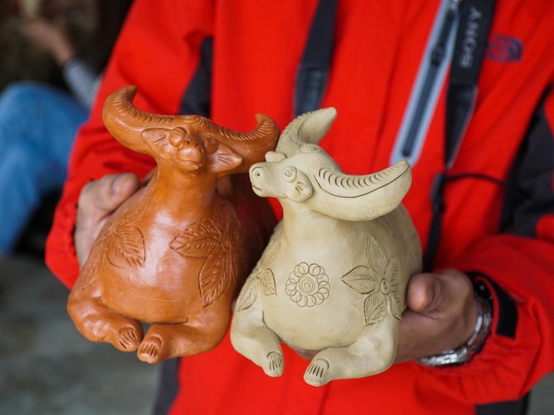 Làng gốm 500 tuổi tất bật nặn trâu bán Tết - ảnh 4