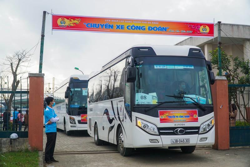 79 chuyến xe miễn phí đưa 3.000 công nhân về quê đón Tết - ảnh 11