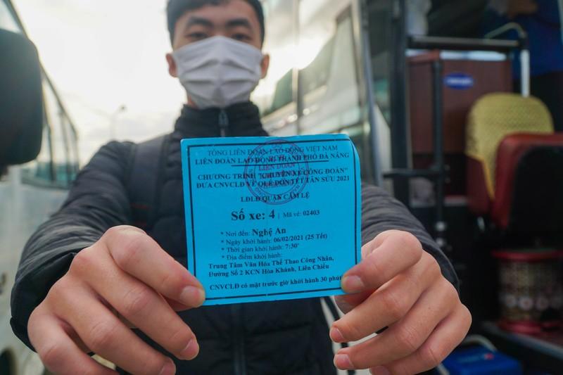 79 chuyến xe miễn phí đưa 3.000 công nhân về quê đón Tết - ảnh 8
