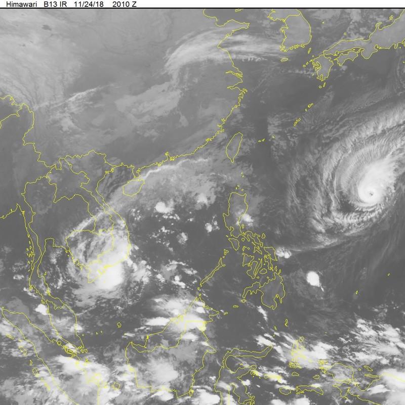 Sáng 25-11: Bão số 9 áp sát Vũng Tàu, gió mưa đang mạnh lên - ảnh 5