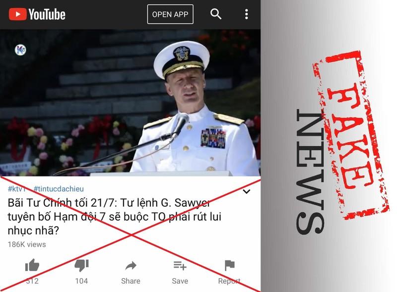Vụ tàu Trung Quốc gần bãi Tư Chính: Cẩn trọng tin giả  - ảnh 3