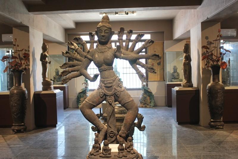 500 hiện vật, cổ vật trong Bảo tàng văn hóa Phật giáo - ảnh 9