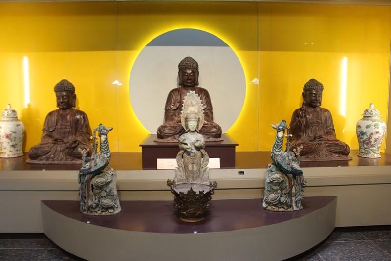 500 hiện vật, cổ vật trong Bảo tàng văn hóa Phật giáo - ảnh 3