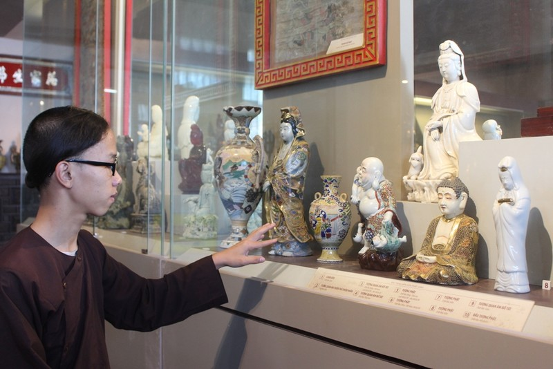 500 hiện vật, cổ vật trong Bảo tàng văn hóa Phật giáo - ảnh 2