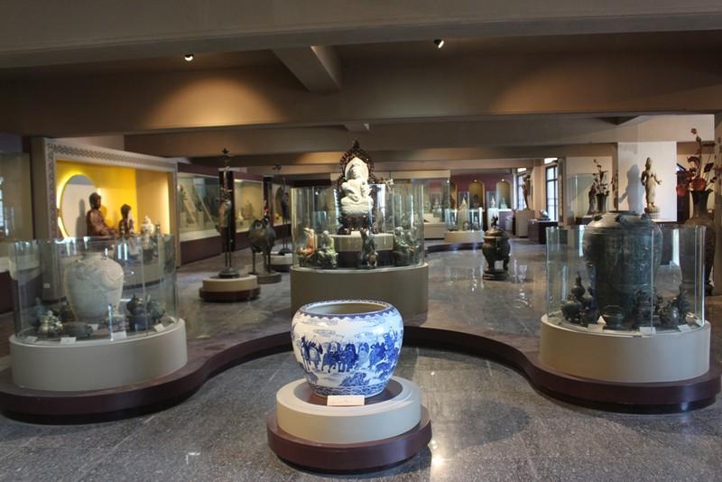 500 hiện vật, cổ vật trong Bảo tàng văn hóa Phật giáo - ảnh 1