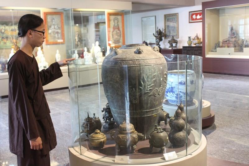 500 hiện vật, cổ vật trong Bảo tàng văn hóa Phật giáo - ảnh 13