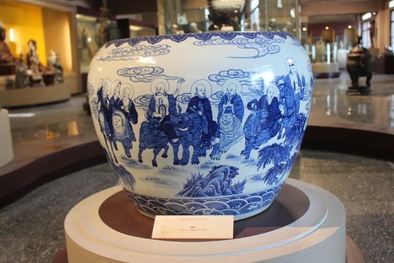 500 hiện vật, cổ vật trong Bảo tàng văn hóa Phật giáo - ảnh 5