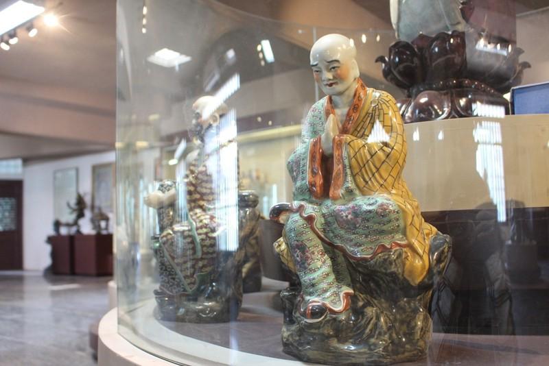 500 hiện vật, cổ vật trong Bảo tàng văn hóa Phật giáo - ảnh 6