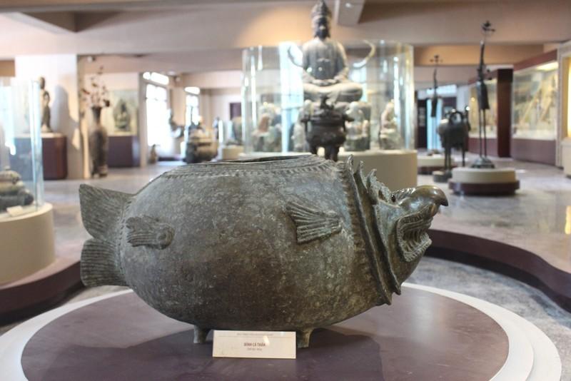 500 hiện vật, cổ vật trong Bảo tàng văn hóa Phật giáo - ảnh 7