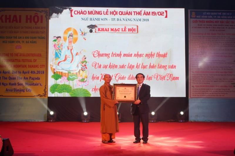 Bảo tàng Phật giáo được xác lập kỷ lục Việt Nam  - ảnh 1
