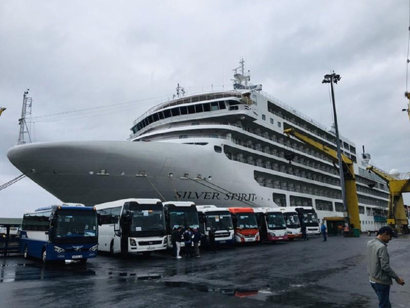 Gần 200 khách châu Âu cập cảng Tiên Sa - ảnh 1