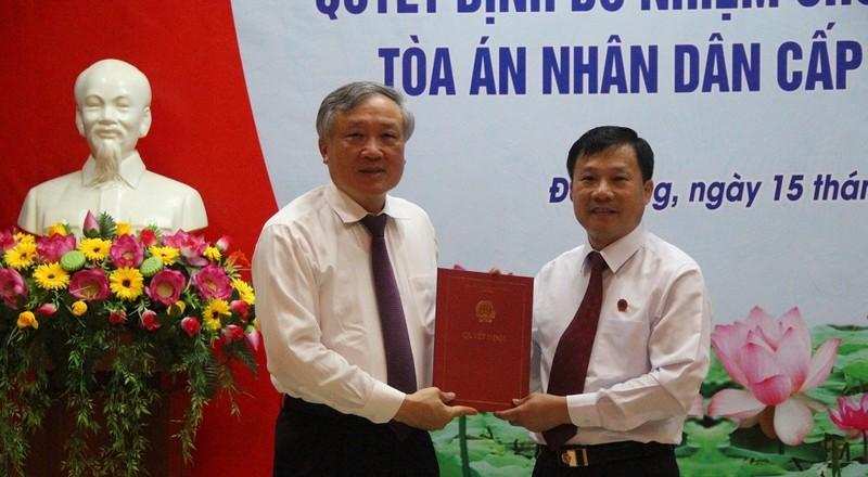 TAND Cấp cao tại Đà Nẵng có phó chánh án mới - ảnh 1