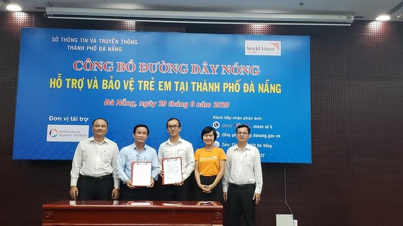 Đà Nẵng công bố đường dây nóng bảo vệ trẻ em   - ảnh 1