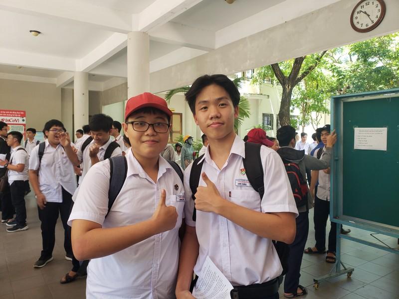 Thi lớp 10 ở Đà Nẵng: Học sinh thở phào với đề toán - ảnh 2