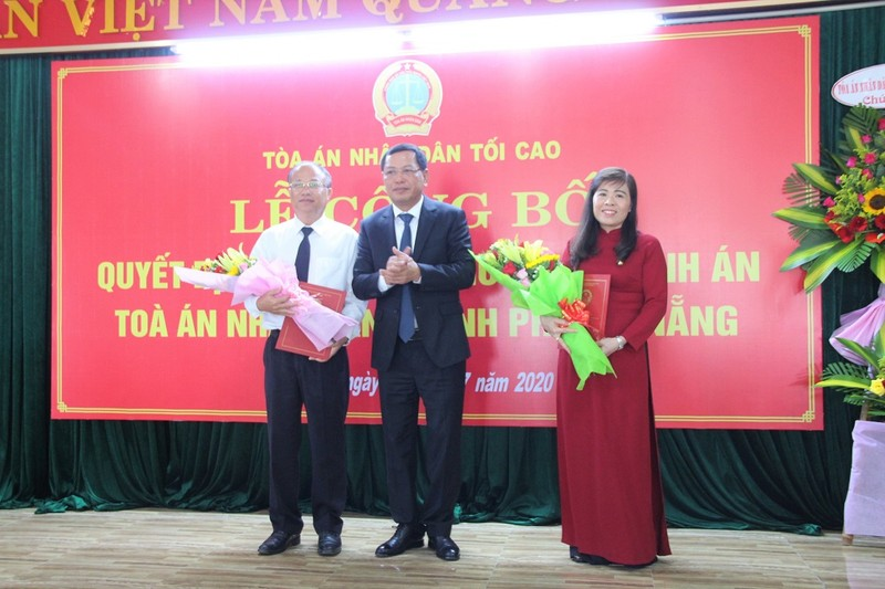 TAND TP Đà Nẵng có chánh án mới - ảnh 1