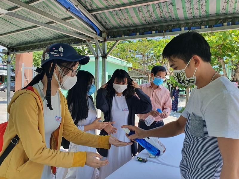 Đà Nẵng đảm bảo an toàn cho thí sinh dự thi tốt nghiệp THPT - ảnh 1