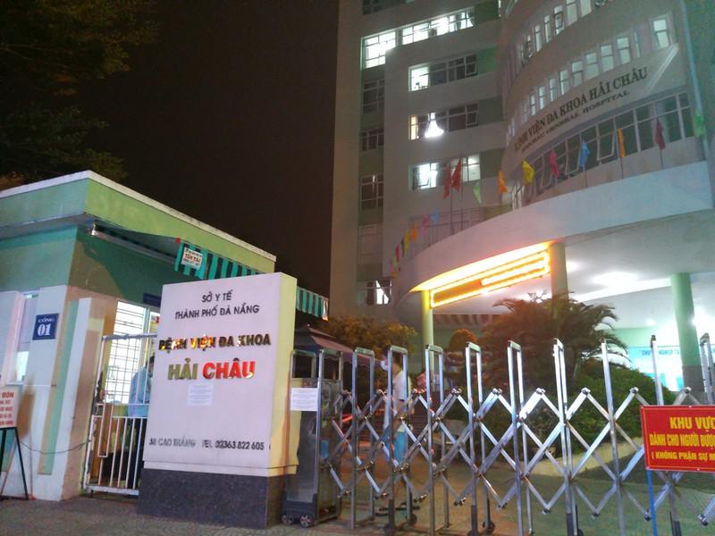 Đà Nẵng: Phong tỏa bệnh viện Hải Châu, cách ly hàng chục người - ảnh 1