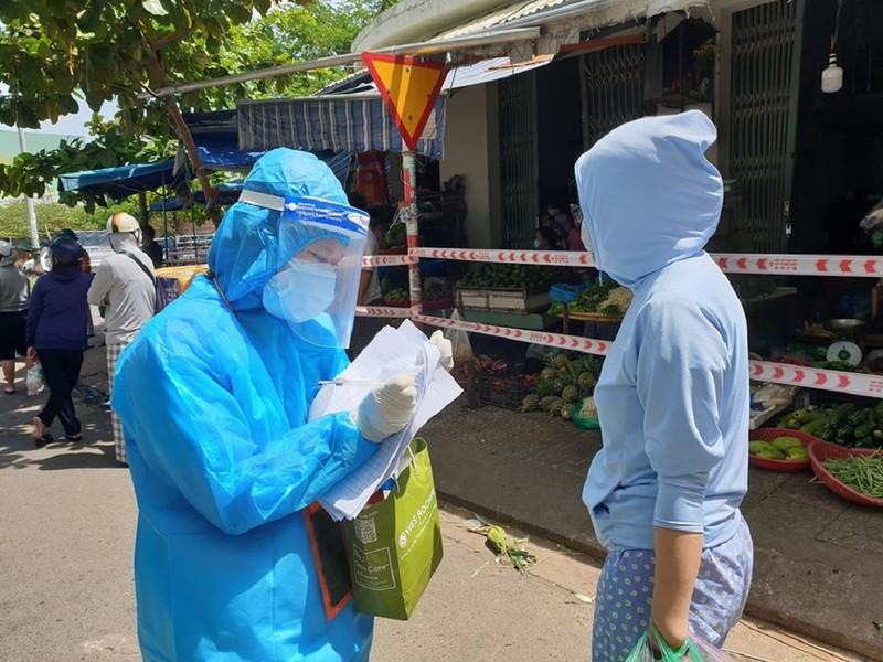 Đà Nẵng tạm đóng cửa 1 chợ vì liên quan đến bệnh nhân COVID-19 - ảnh 1