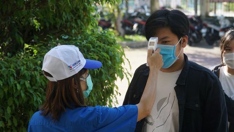Đà Nẵng: Xét nghiệm COVID-19 cho gần 11.000 thí sinh thi đợt 2 - ảnh 3