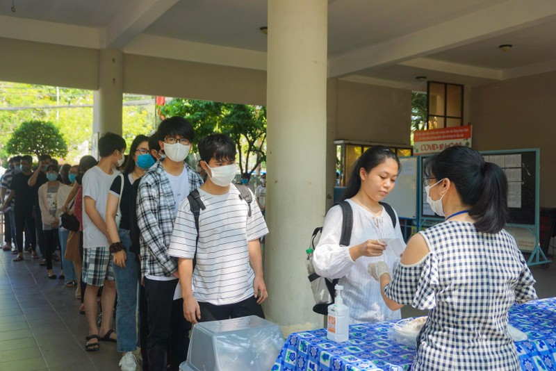 Gần 11.000 thí sinh Đà Nẵng thi đợt 2 vững tin trước ngày thi - ảnh 1