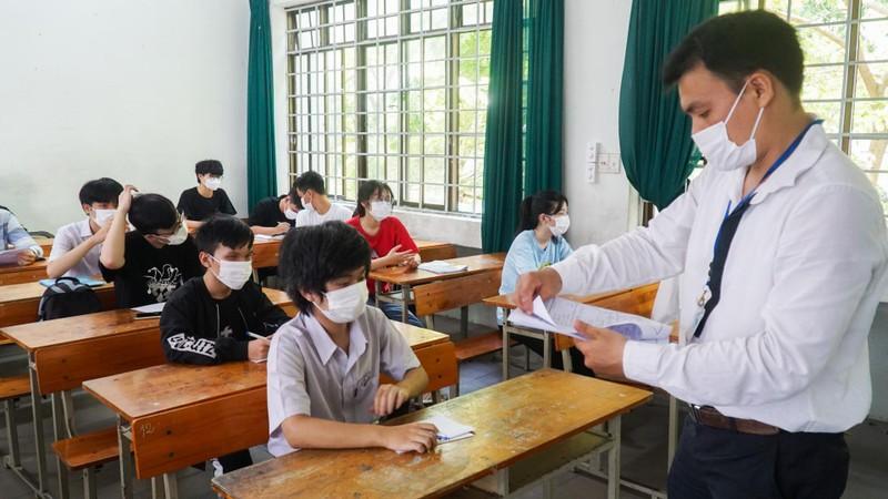 Gần 11.000 thí sinh Đà Nẵng thi đợt 2 vững tin trước ngày thi - ảnh 3