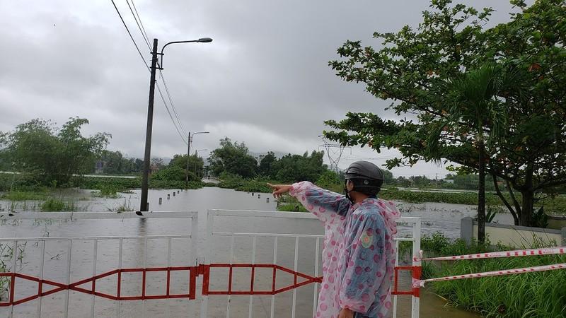 Đà Nẵng: Nước lũ bủa vây Hoà Vang - ảnh 2