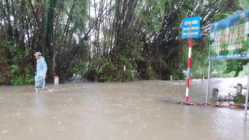 Đà Nẵng: Nước lũ bủa vây Hoà Vang - ảnh 3