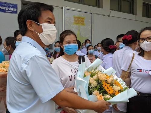 141 y bác sĩ Đà Nẵng và Huế tiếp tục lên đường chi viện TP.HCM - ảnh 3