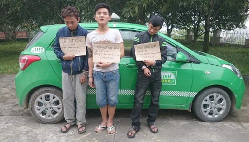 Con nghiện hai lần dùng dao cướp của tài xế taxi  - ảnh 1