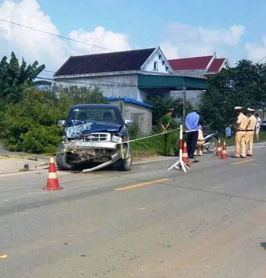 Chủ tịch xã lái ô tô gây tai nạn, 2 học sinh tử vong - ảnh 1