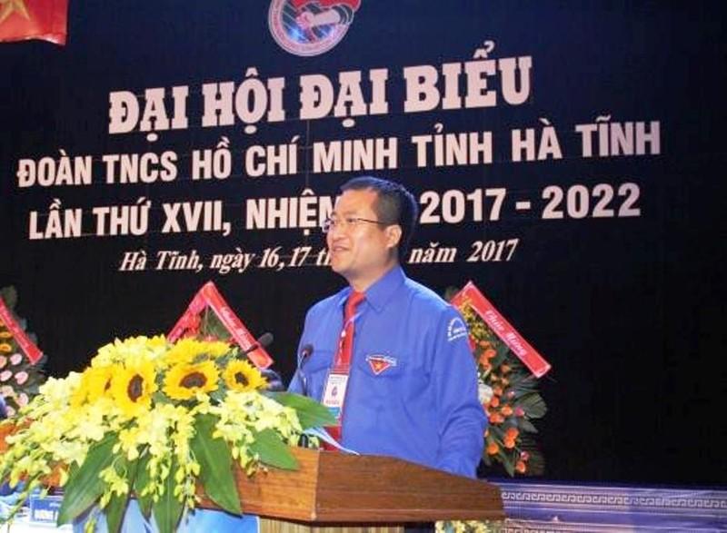 Ông Nguyễn Thế Hoàn tái đắc cử bí thư Tỉnh đoàn Hà Tĩnh - ảnh 1