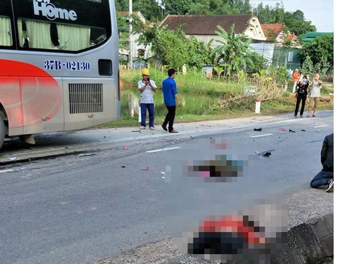 2 phụ nữ bị xe giường nằm tông tử vong - ảnh 1