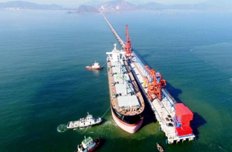 Phó Thủ tướng Vương Đình Huệ nhấn nút mở cầu cảng biển  - ảnh 2
