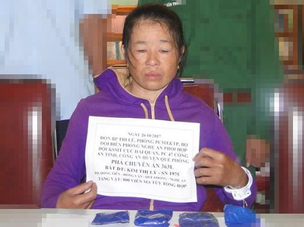 Bắt người phụ nữ trộn ma túy tổng hợp vào nông sản  - ảnh 1