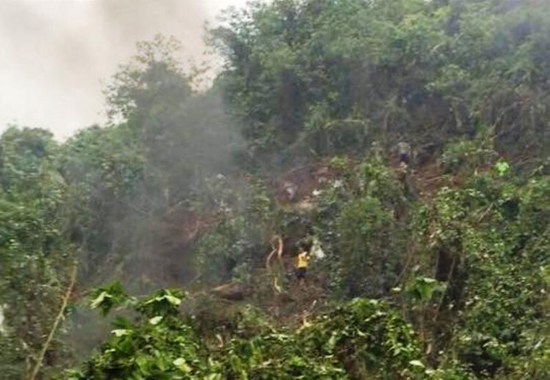Tìm thấy hộp đen của máy bay Su-22U rơi ở Nghệ An - ảnh 1