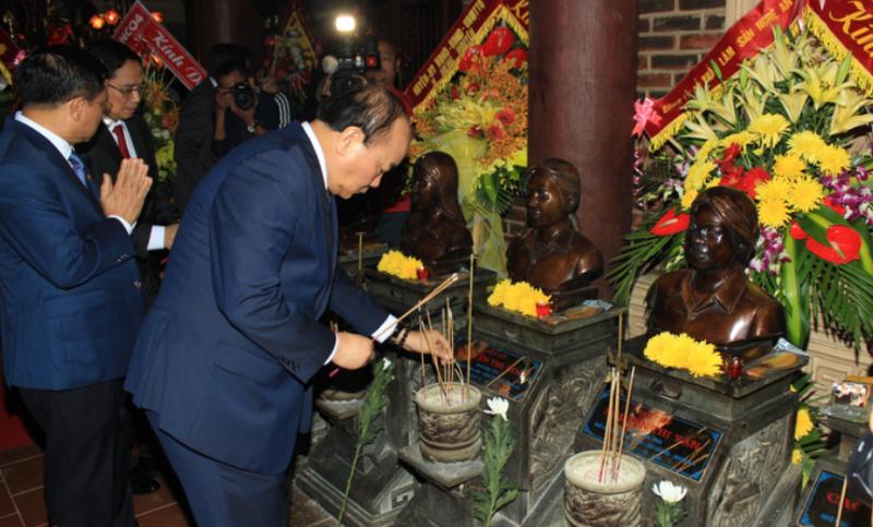 Thủ tướng dự lễ kỷ niệm 50 năm chiến thắng Truông Bồn - ảnh 1