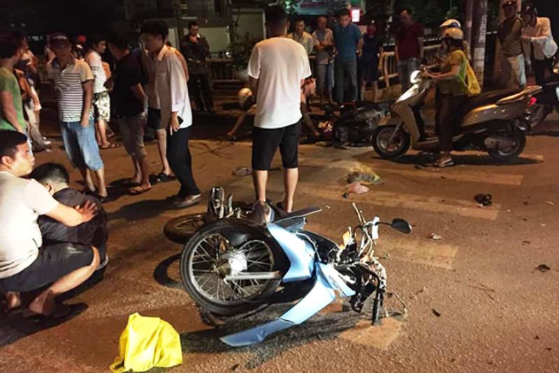 Tai nạn xe máy, 1 thượng tá công an tử vong - ảnh 1